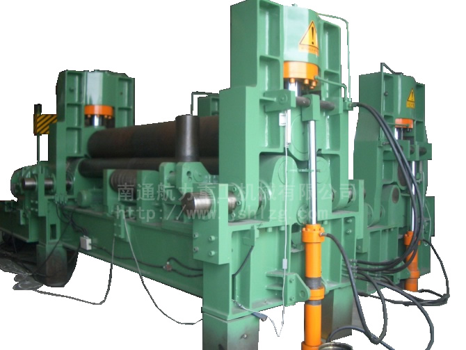 W11S-30X2500上辊万能液压数控卷板机